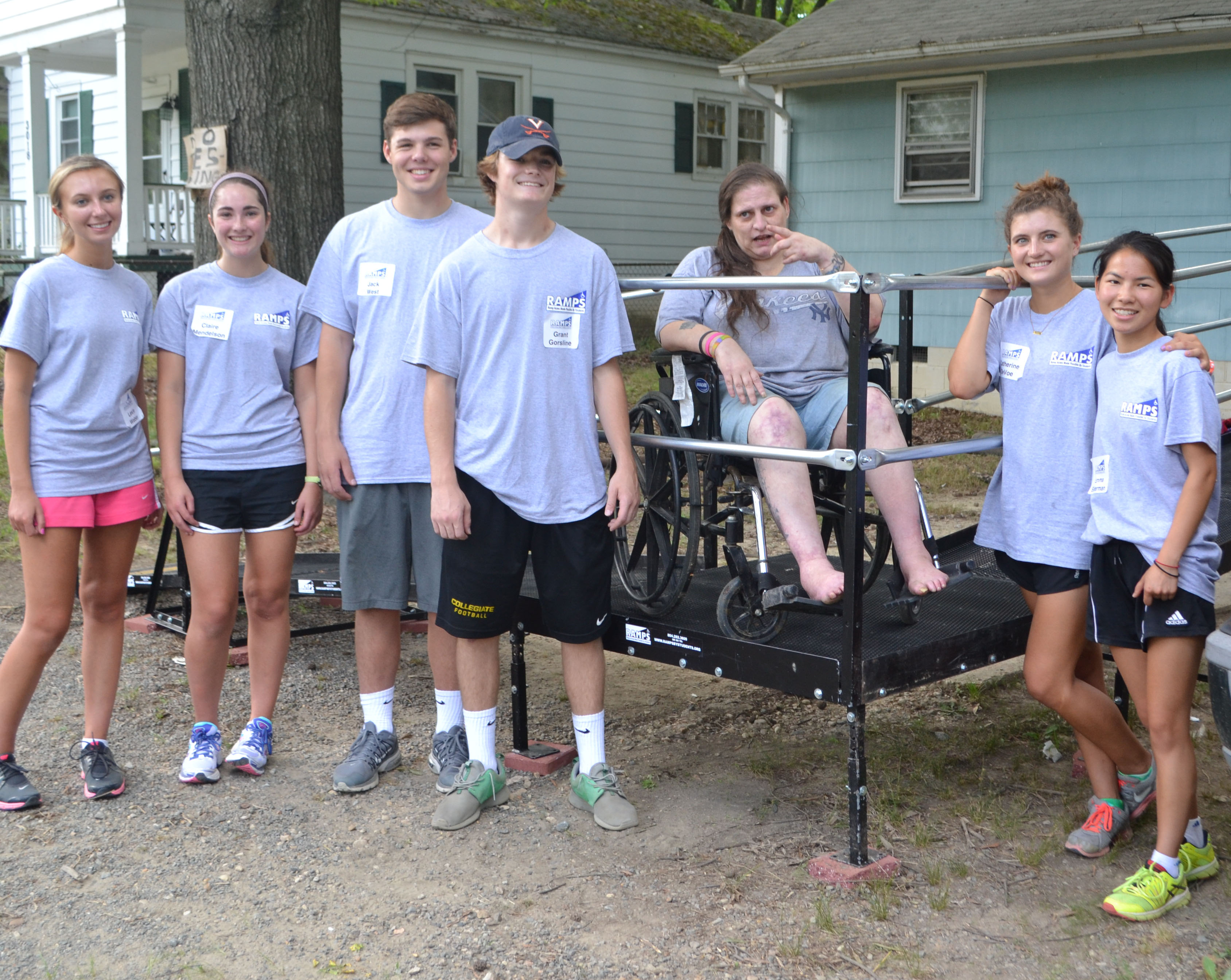 Wheelchair | Ramp Access Made Possible by Students